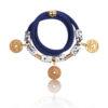 Navy Gladiator Wrap Bracelet