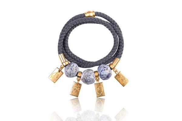 charm wrap bracelet