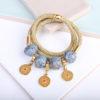 Gold Wrap Bracelet