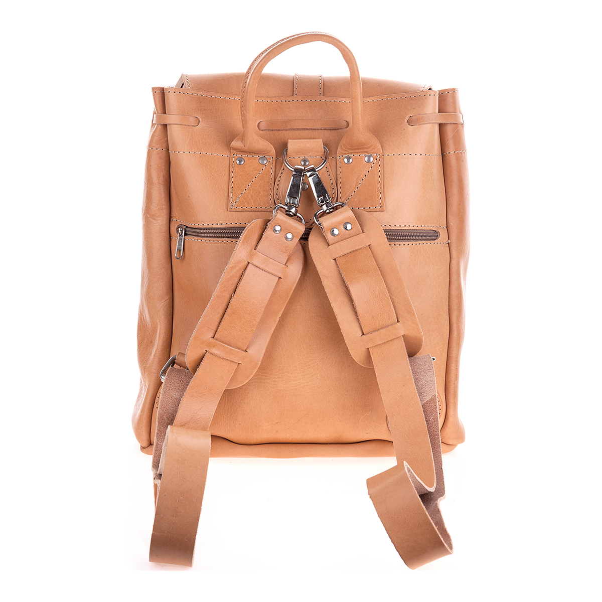 Leather Backpack / Travel Bag in XL - Irisandals