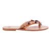 Amaryllis sandals, leather IRISANDALS, iris