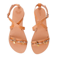 IRISANDALS_tan leather strap