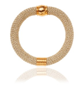 Beige Statement Bangle