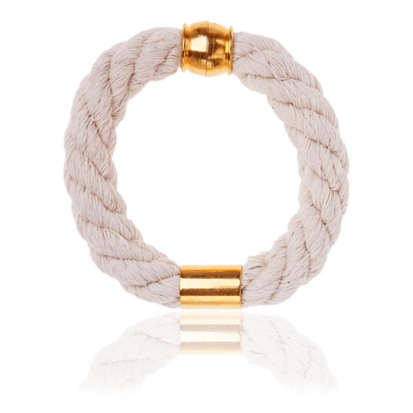 ivory statement bangle
