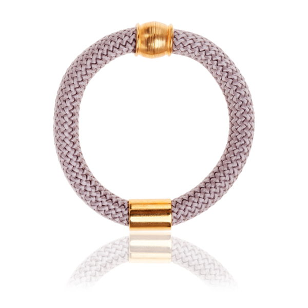 Rose Grey statement bangle