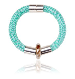 Mint Green statement bangle