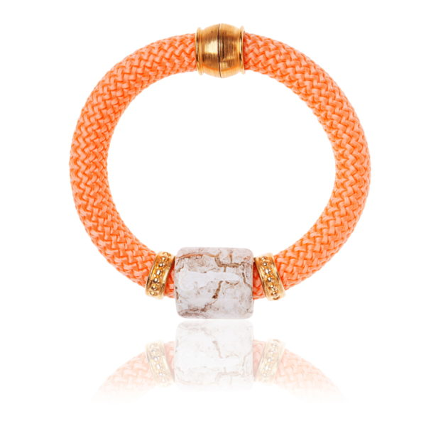 Burnt Orange Statement Bangle