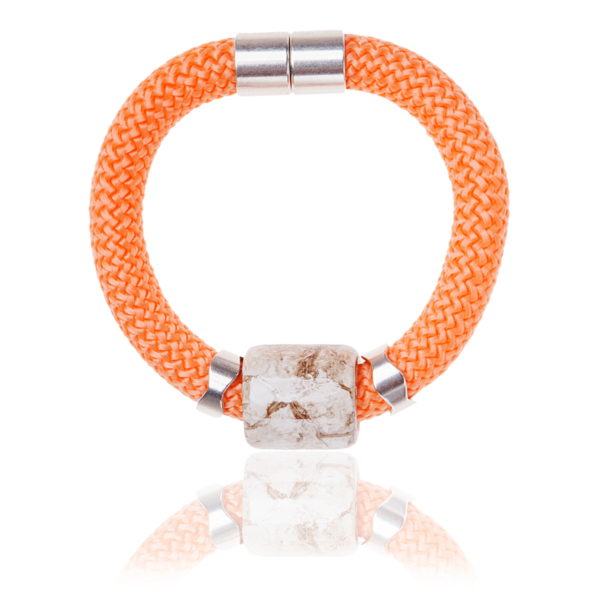 Peach Statement Bangle
