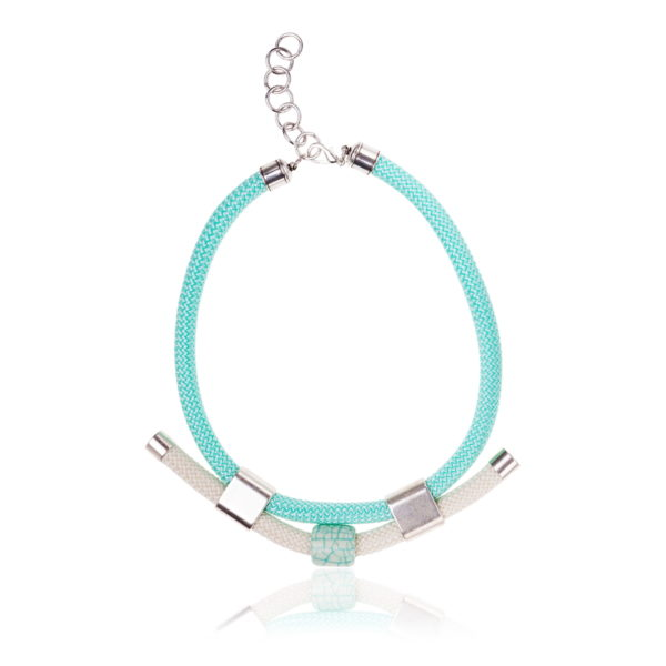 Light Mint and Ivory Statement Necklace