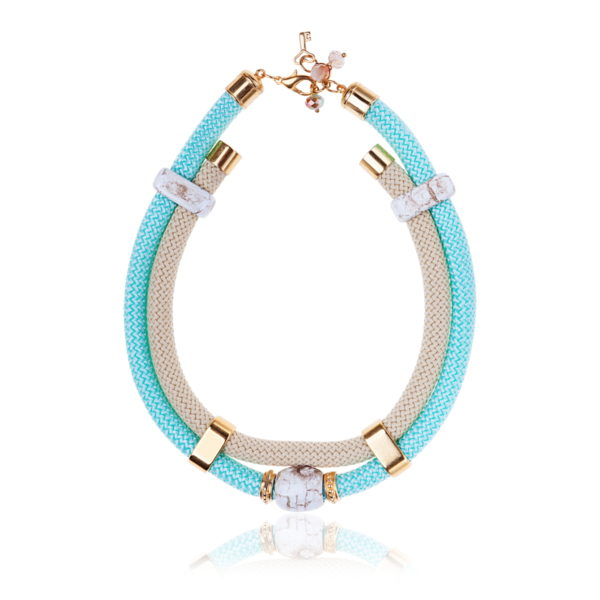 Mint Goddess Statement Necklace