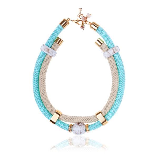 Mint Goddess Statement Necklace