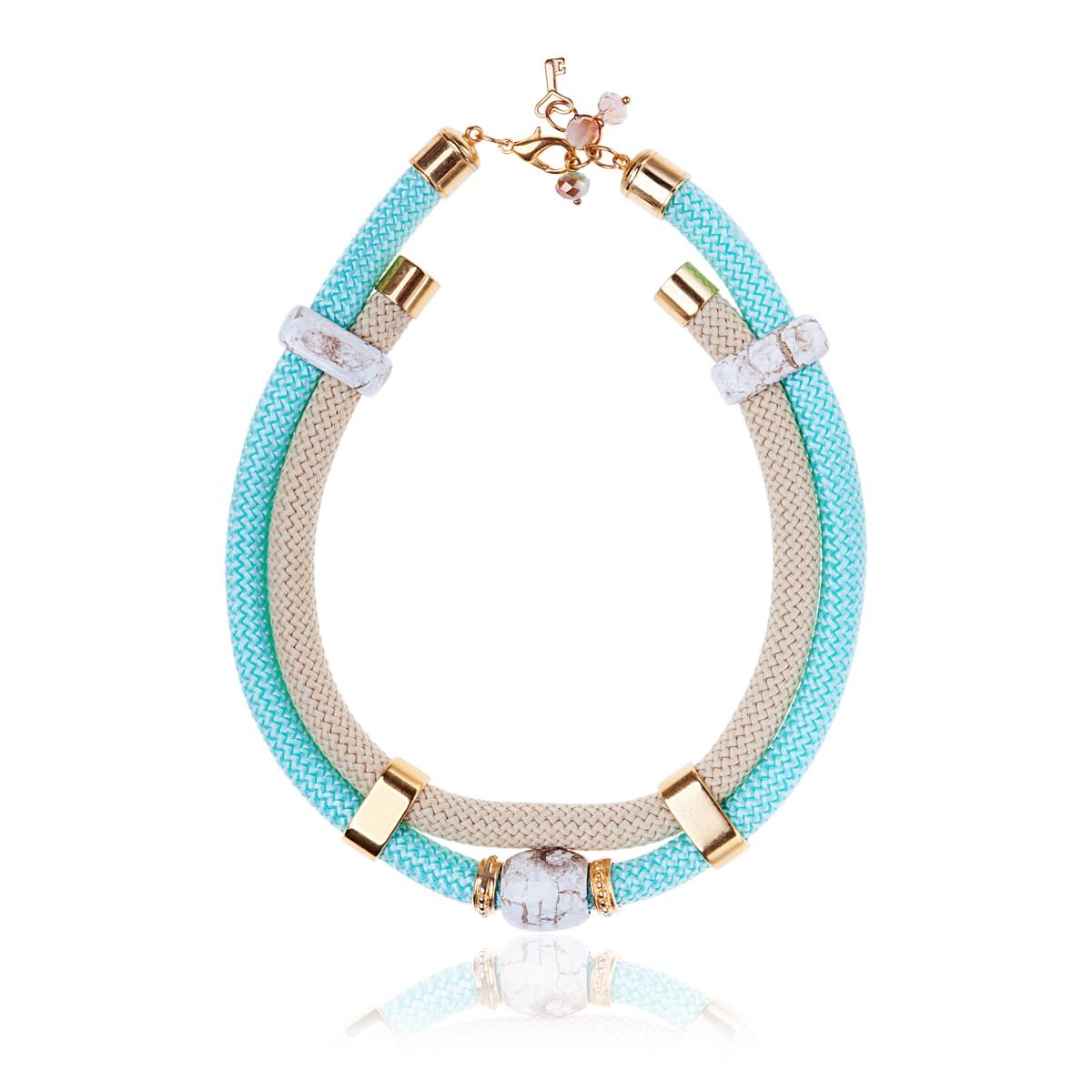 IRIS: Make a statement necklace / Blue | Accessories,Jewelry > Necklaces,Jewelry -  Hiphunters Shop