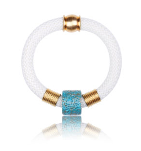 Pure White Statement Bangle