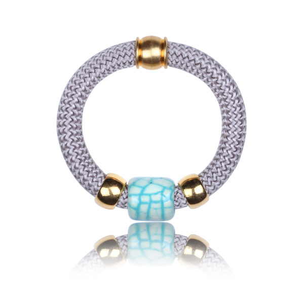 lilac statement bangle