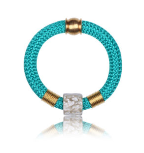 Cyan Statement Bangle