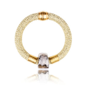 Gold Statement Bangle