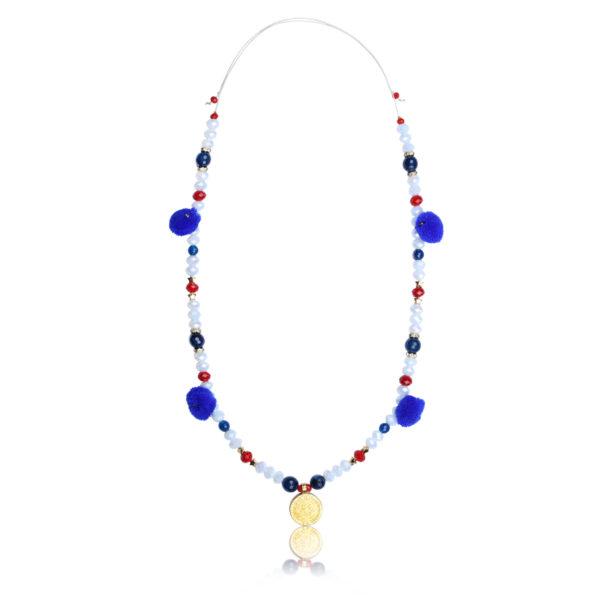 Maya Disc necklace