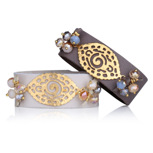 Ethnic Leather Bracelet
