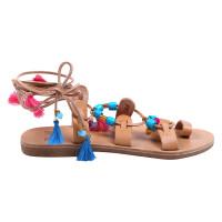 Ibiza tassel iris sandals