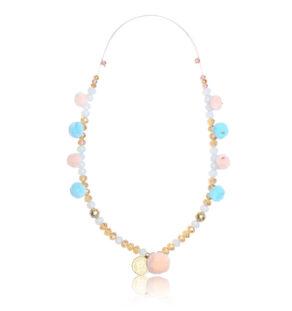 Maya Disc Boho Necklace