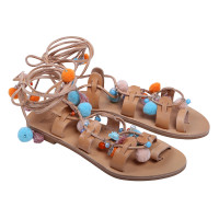 pom pom sandals iris sandals